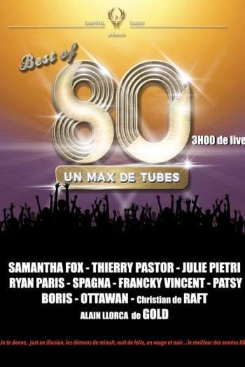 Best of 80 affiche concert