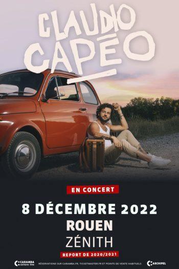 Claudio Capeo report concert zénith de strasbourg affiche tournée