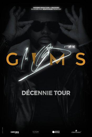 Gims affiche concert