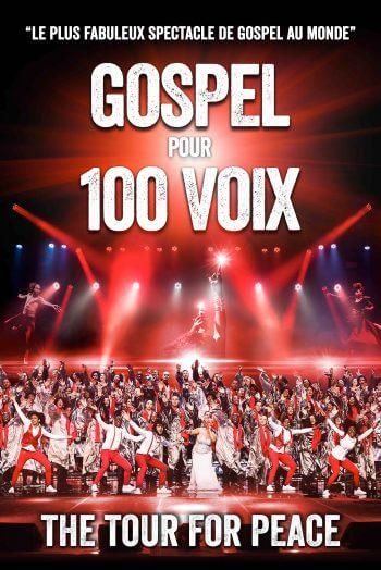 Gospel pour 100 voix affiche concert