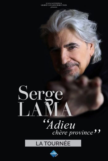 Serge Lama affiche concert