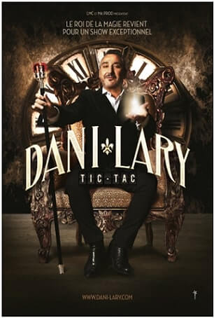 Dani Lary spectacle affiche