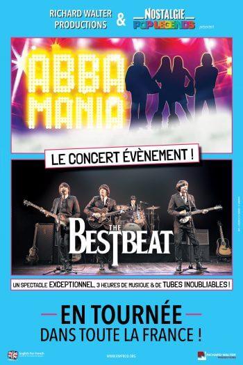 abba pop legends affiche concert