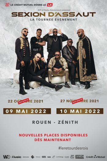 Sexion d'Assaut le retour des rois concert tournée zénith de rouen