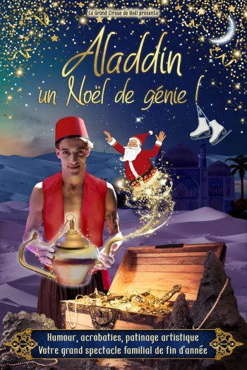Aladdin affiche spectacle