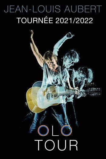 Jean Louis Aubert concert affiche