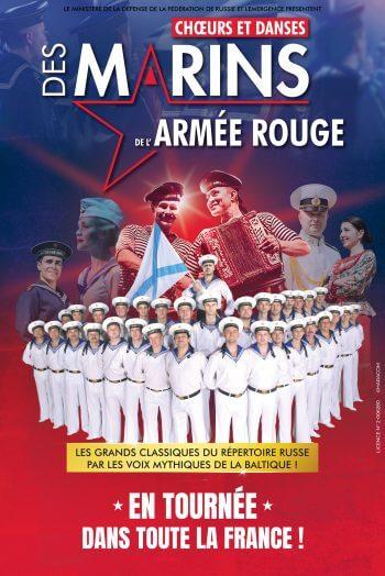 Affiche spectacle Armée rouge