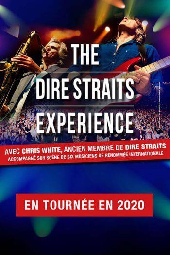 The dire straits expérience affiche concert