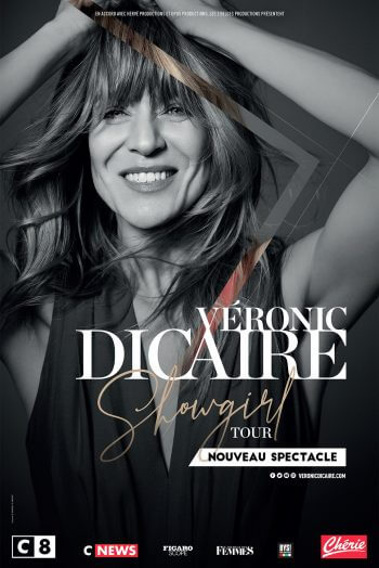 Véronic Dicaire affiche spectacle