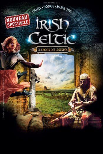 Irish celtic affiche spectacle