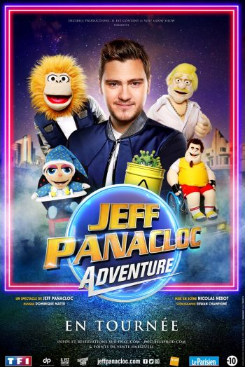 Jeff Panacloc Affiche tournée
