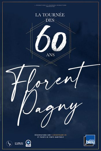 Florent Pagny affiche concert