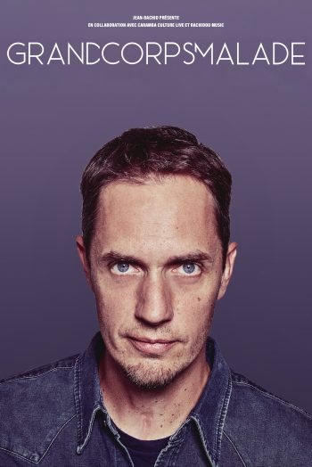 Grand Corps Malade affiche spectacle