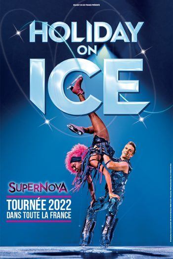 Holiday on ice affiche spectacle