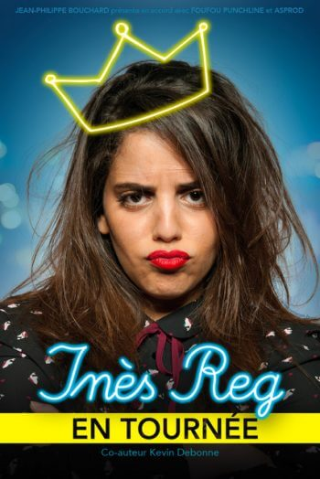 Inès Reg affiche spectacle