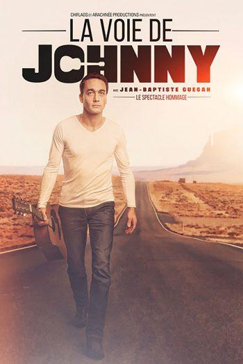 La voie de Johnny affiche concert