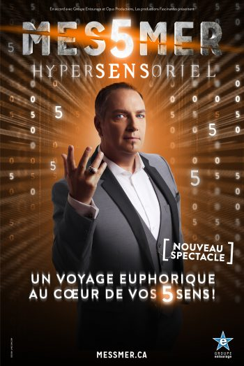 Messmer affiche spectacle