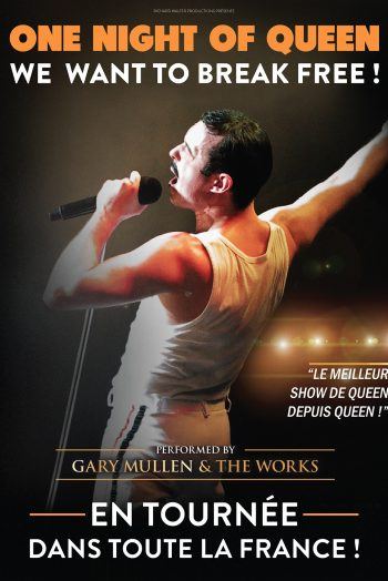One night of queen affiche concert