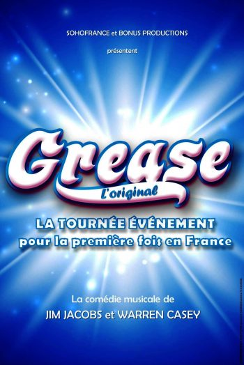 Grease affiche spectacle