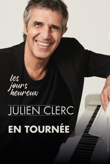 Julien Clerc affiche concert