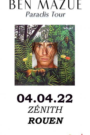Ben Mazué affiche concert