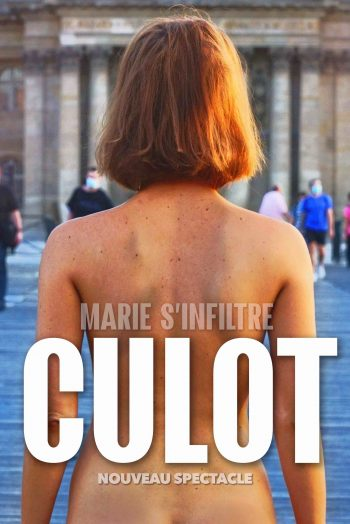 Affiche spectacle Marie s'infiltre