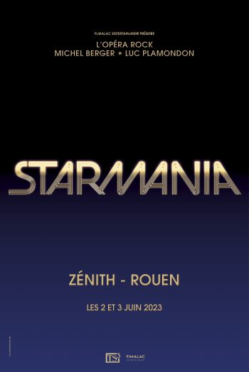 Affiche Starmania Rouen