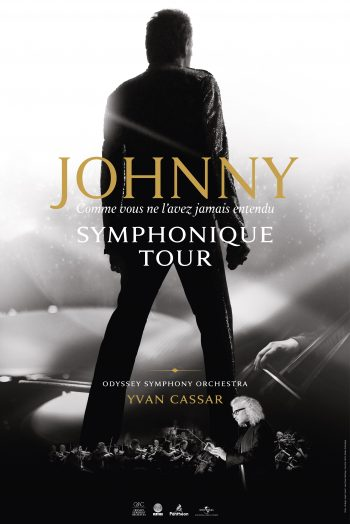 Johnny symphonique tour affiche